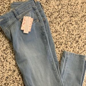 Free people skinny stretch jeans